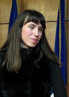 Tetiana Chornovol Ukrainian journalist and civic activist