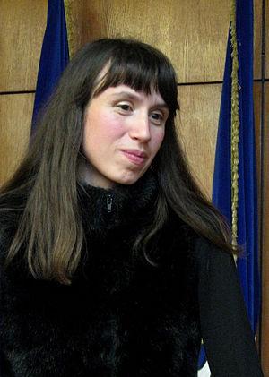 Tetiana Chornovol - Tetiana Chornovol in 2012.