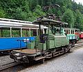 Te2-2 Nr. 926 - ehemalige Verkehrsbetriebe Zürich - Rangierlokomotive - Baujahr 1935 - Blonay-Chamby - 20080817 - 02.jpg