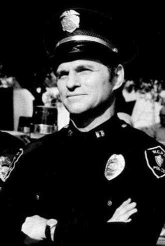 Ted Hartley - Ted Hartley in Chopper One, 1974.
