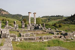 Sardis - The Greek Temple of Artemis at Sardis