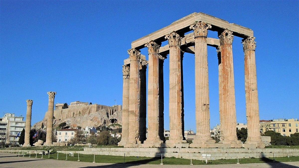 Temple Of Olympian Zeus Athens Wikipedia