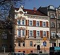 Tenement, ca. 1910 by arch. R. Grynus-Gajewski, 4 Debnicki Market Square, Debniki, Krakow, Poland.jpg
