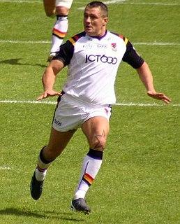 Terry Newton former GB & England international rugby league footballer