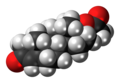 Testosterone acetate molecule spacefill.png