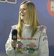 Thais nel 2007, in veste di pilota al Monza Rally Show.