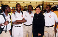 Thakur Doultani with Cricketers 3.jpg