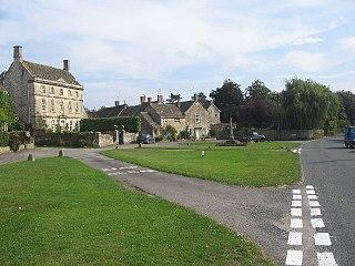Biddestone Human settlement in England