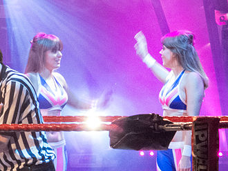 The Blossom Twins - The Blossom Twins in IPW:UK.