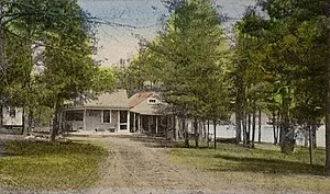 """Milton, New Hampshire - """"The Camps"""" in 1910"""