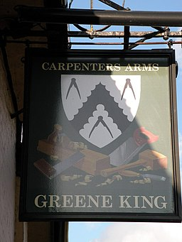The Carpenters Arms sign - geograph.org.uk - 1009797