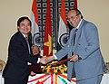 The DG, CSIR & Secretary, Dept. of Scientific & Industrial Research, Prof. Samir K. Brahmachari and the President, of Vietnam National University.jpg