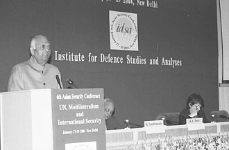 """K. C. Pant - Image: The Deputy Chairman, Planning Commission Shri K.C. Pant speaking at the inauguration of the """"6 Asian Security Conference"""" organized by the Institute for Defence Studies and Analyses (IDSA) in New Delhi on January 27, 2004"""