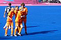 The Dutch celebrate a goal against the USA (9375468183).jpg