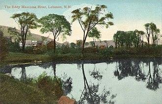 Mascoma River - Mascoma River in 1909