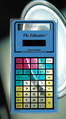 The Educator overhead calculator with lamp behind it (27008822760).png