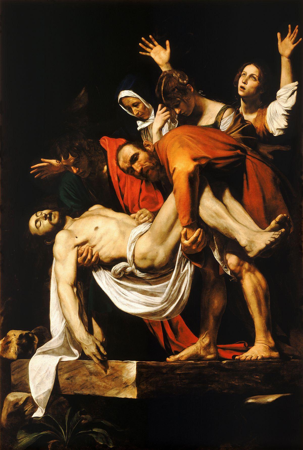 O Sepultamento de Cristo (Caravaggio) – Wikipédia, a enciclopédia livre