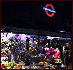 The Flower Shop, Embankment Stn, London. - panoramio