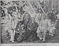 The Four Arikis of Rarotonga and one of Tahiti, Auckland Weekly News, 12 May 1899.jpg