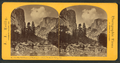 The Half Dome, and Washington Column, Yo Semite Valley, Cal, by Reilly, John James, 1839-1894.png