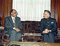 The Interior Minister for Sudan, Mr. Abdurrahim Mohammed calls on the Union Home Minister, Shri Shivraj Patil in New Delhi on January 24, 2005.jpg