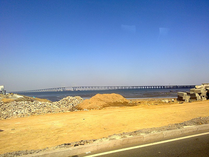 File:The Jiaozhou Bay Bridge.jpg