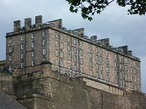Barracks - Late 18th century barracks from the reign of George III, Edinburgh Castle, Scotland