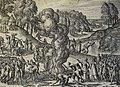 The Phillip Medhurst Picture Torah 598. Destroying the golden calf. Deuteronomy cap 9 v 41. Borcht.jpg