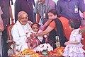 The Prime Minister Shri Atal Bihari Vajpayee celebrates Holi in New Delhi on March 7, 2004.jpg