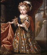 The Prince of Asturias (future Louis I of Spain) in 1712 by Melendez
