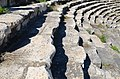 The Roman theatre, built in the second half of the 1st century BC on the eastern slope of the acropolis, Aphrodisias, Caria, Turkey (18526223961).jpg