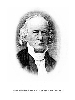 George Washington Doane - Image: The Rt. Rev. George Washington Doane