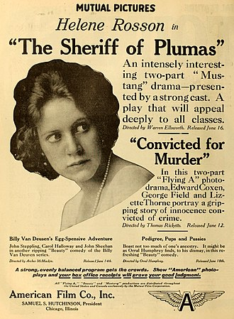 American Film Manufacturing Company - Image: The Sheriff of Plumas