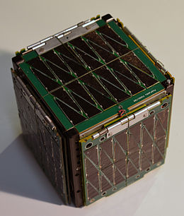 The SkyCube cubesat, corner view, undeployed.jpg
