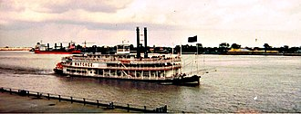 Natchez, Mississippi - The steamboat Natchez operating out of New Orleans, Louisiana.