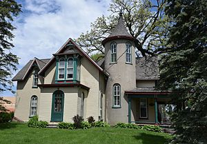 National Register of Historic Places listings in Jasper County, Iowa - Image: The Thomas Arthur House