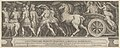 The Triumph of Two Roman Emperors (left-hand side) with a Roman Emperor riding in a triumphal chariot MET DP836947.jpg