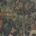 The Unicorn Defends Itself (from the Unicorn Tapestries) MET DP101155.jpg