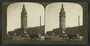 Early Ferry building stereoscope, prior to the 1906 earthquake