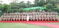 The Union Home Minister, Shri Rajnath Singh in a group photograph with the probationers of the Indian Police Service (IPS 2017 batch), in New Delhi.JPG