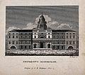 The University of Edinburgh, Scotland. Line engraving by W. Wellcome V0012578.jpg