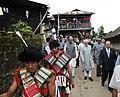 The Vice President, Shri Mohd. Hamid Ansari arrives at Kigwema village, during his visit to Kohima, Nagaland on September 19, 2010.jpg