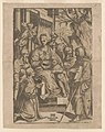 The Virgin and Child surrounded by saints) - Taglio d'Alex Ghandini LCCN2015650881.jpg