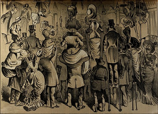The Wasp. A Saturday journal of illustration and comment, devoted to the discussion of public affairs, finance, society and art (1879) (14796579493)