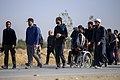 The clergymen on the arbane hike روحانیت در پیاده روی اربعین 12.jpg