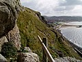 The cliff walk - geograph.org.uk - 580652.jpg