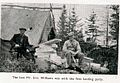 The late Mr. Arthur Eric Williams, bot. r. clkwise 1934 was with the first landing party Labrador Development Company Ltd Port Hope Simpson Tombstone L.jpg