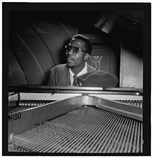 Thelonius Monk el 1947 a Minton's Playhouse, Nova York
