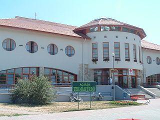 Gárdony Town in Fejér, Hungary