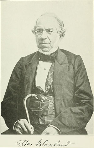 Thomas Blanchard (inventor) - Thomas Blanchard in his later years